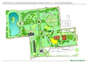 Koncepcja Parku w Piasecznie